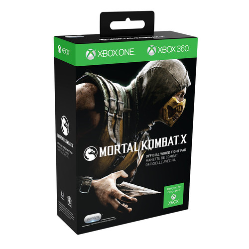 Mortal Kombat X: Official Wired Fight Pad