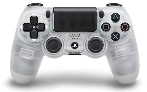 Dualshock 4 Crystal Wireless Controller