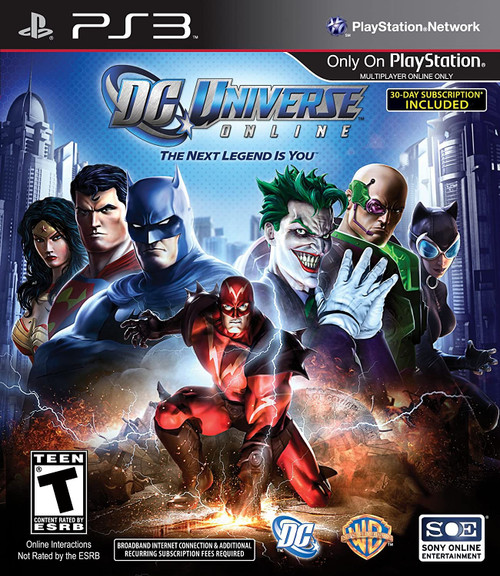 DC Universe Online - PS3 - USED