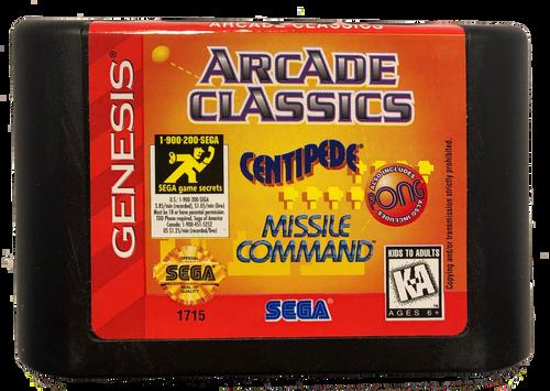 Arcade Classics: Centipede / Missile Command - USED