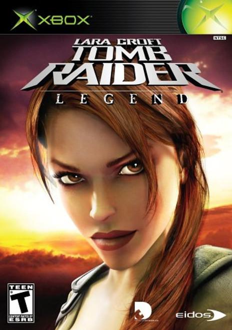 Lara Croft - Tomb Raider: Legend - Xbox