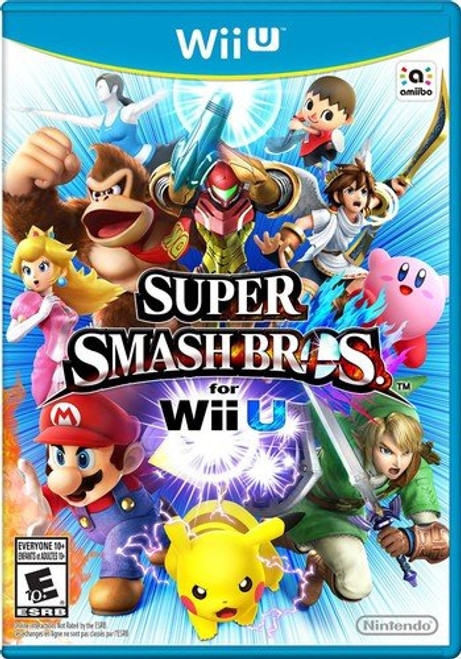 Super Smash Bros. for Wii U - Wii-U - USED
