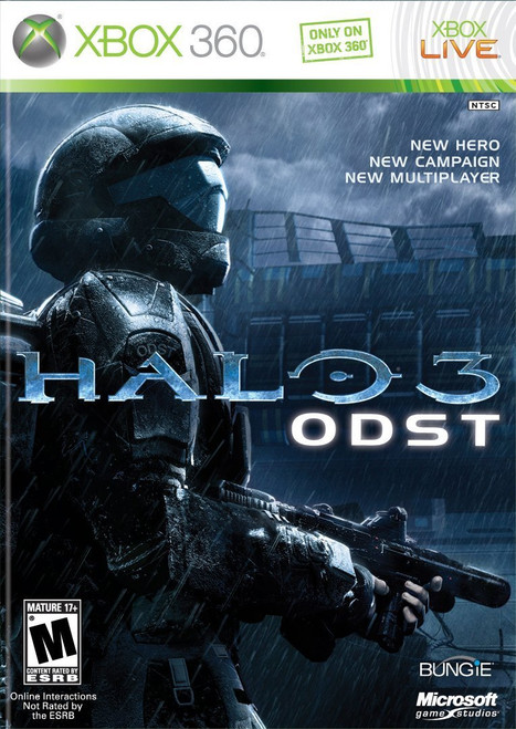 Halo 3: ODST - Xbox 360 -USED