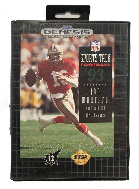 Sports Talk Football 93 Starring Joe Montana