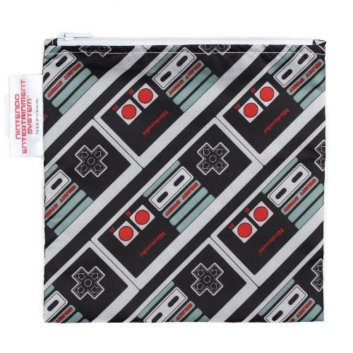 Bumkins Nintendo NES Controller Reusable Snack Bag
