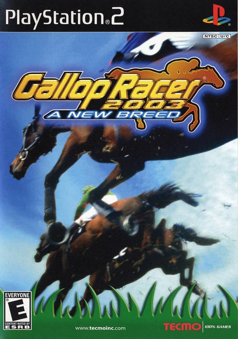 Gallop Racer 2003: A New Breed - PS2 - USED