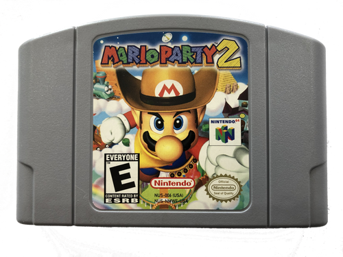Mario Party 2 - N64 - USED (INCOMPLETE)