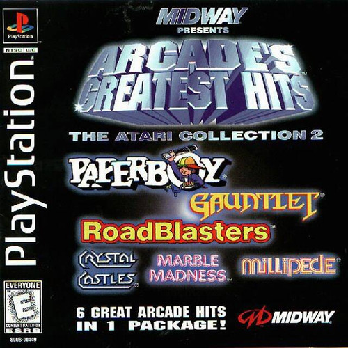 Arcade's Greatest Hits: The Atari Collection 2 - PS1 - USED