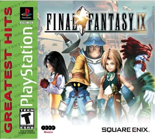 Final Fantasy IX - PS1 - Greatest Hits - USED