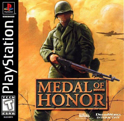 Medal of Honor - PS1 - USED