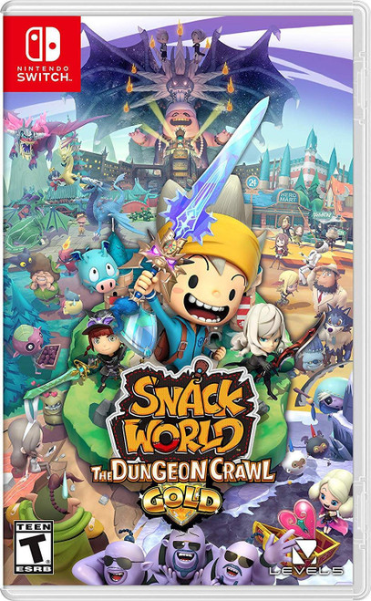 Snack World: The Dungeon Crawl -GOLD-