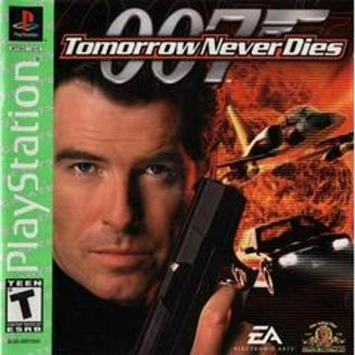 Tomorrow Never Dies - GREATEST HITS - PS1 - USED