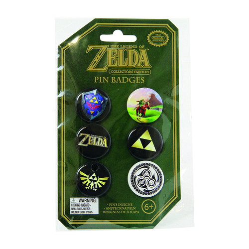 The Legend of Zelda Pin Badges