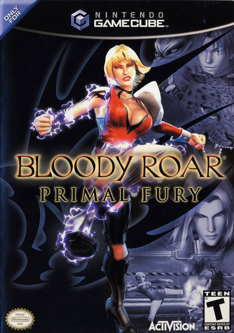 Bloody Roar: Primal Fury - GameCube - USED