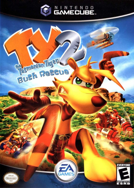 Ty the Tasmanian Tiger 2: Bush Rescue - GameCube
