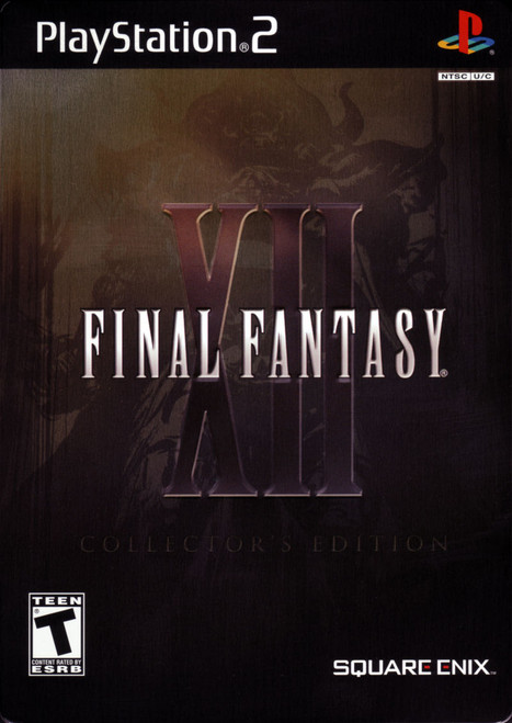Final Fantasy XII - Collector's Edition - PS2 - USED