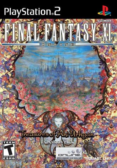 Final Fantasy XI Online: Treasures of Ahi Urhgan - PS2 - USED