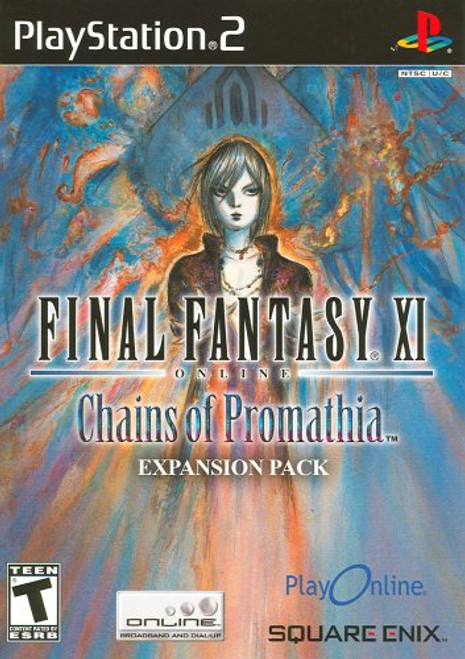 Final Fantasy XI Online: Chains of Promathia - PS2 - USED
