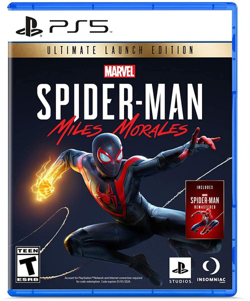 MARVEL'S Spider-Man: Miles Morales - PS5 - Ultimate Launch Edition - NEW!