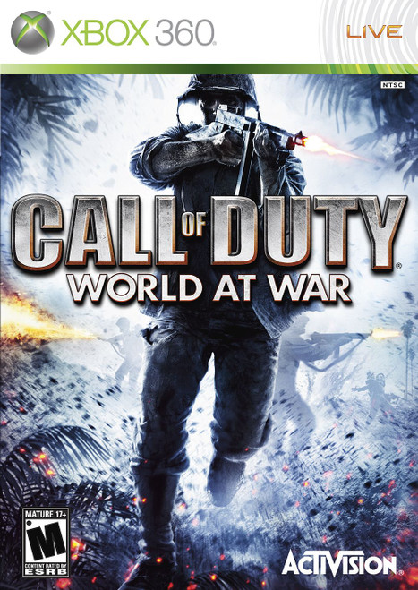 Call of Duty: World at War - Xbox 360 - USED
