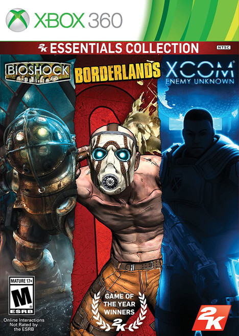 2K Essentials Collection (BioShock, Borderlands, XCOM: Enemy Unknown)