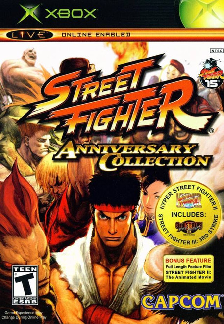 Street Fighter Anniversary Edition - Xbox