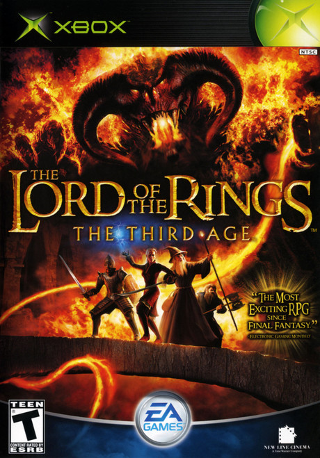 The Lord of the Rings: The Third Age - Xbox - USED