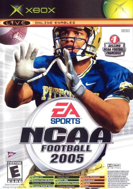 NCAA Football 2005 - Xbox- USED