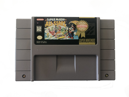 Super Mario All-Stars - SNES - USED (INCOMPLETE)