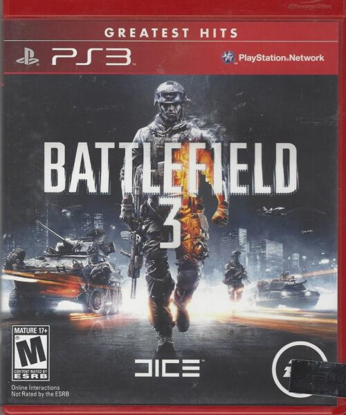 Battlefield 3 - PS3 - Greatest Hits