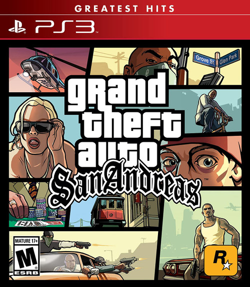 Grand Theft Auto: San Andreas - PS3 - Greatest Hits