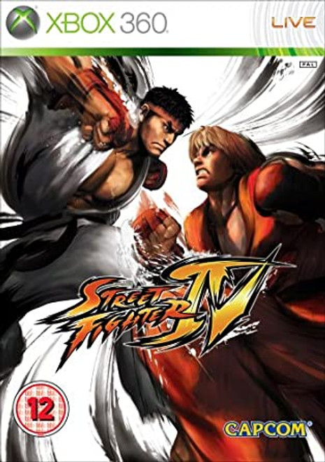 Street Fighter IV - Xbox 360 - USED
