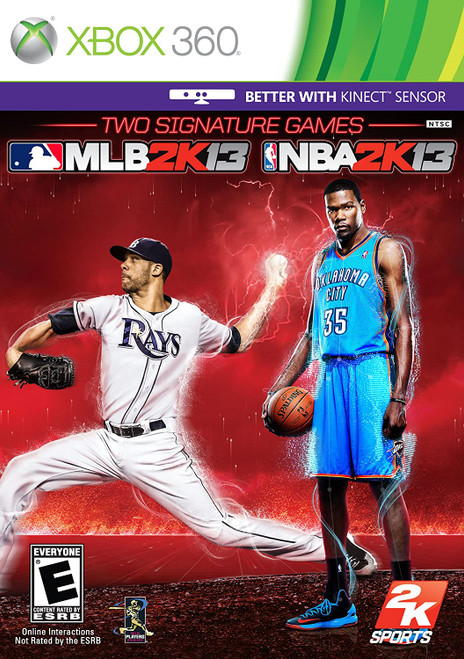 2K Sports Combo Pack: MLB 2K13 + NBA 2K13 - Xbox 360