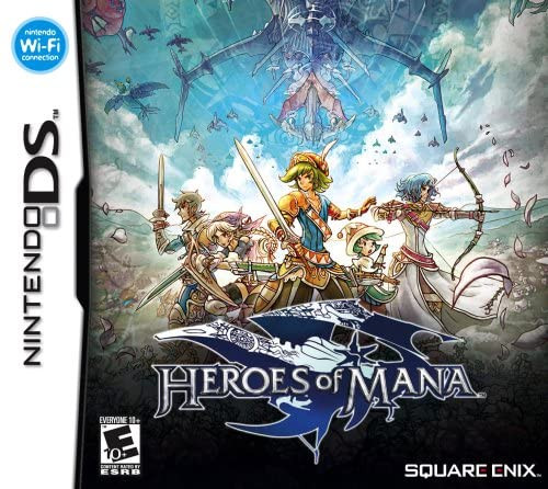 Heroes of Mana - NEW