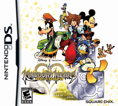 Kingdom Hearts: Re:Coded - DS - USED
