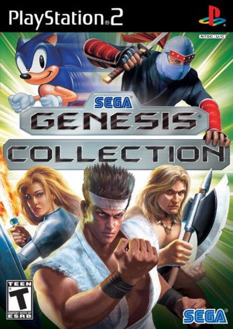 Sega Genesis Collection - PS2 - USED