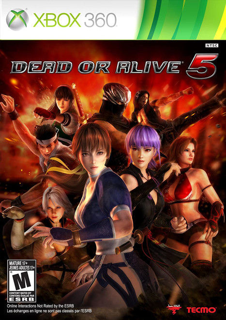Dead or Alive 5 - Xbox 360 - USED