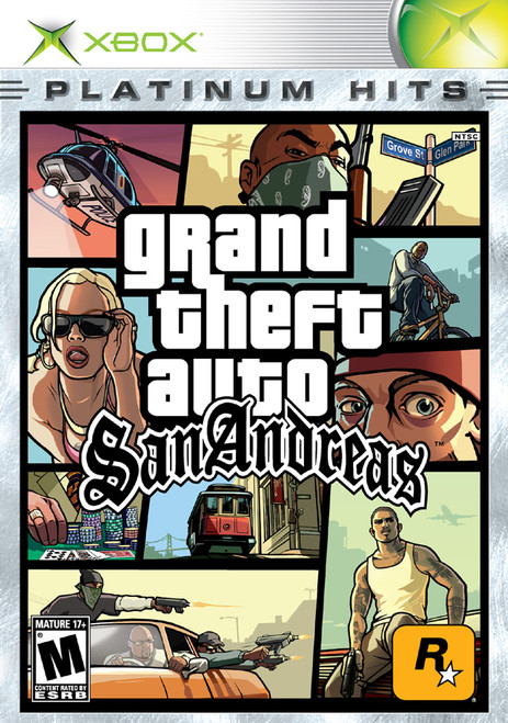 Grand Theft Auto: San Andreas - Xbox - Platinum Hits - USED