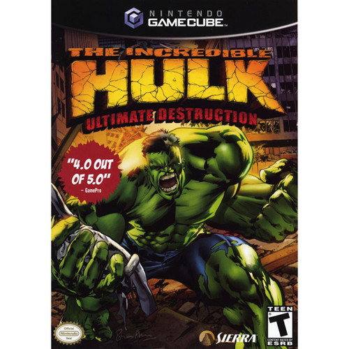 The Incredible Hulk: Ultimate Destruction - Gamecube - USED