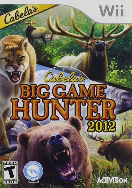 Cabela's Big Game Hunter 2012 - Wii - USED