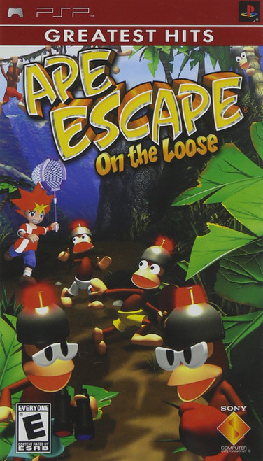 Ape Escape: On the Loose - PSP - Greatest Hits - USED