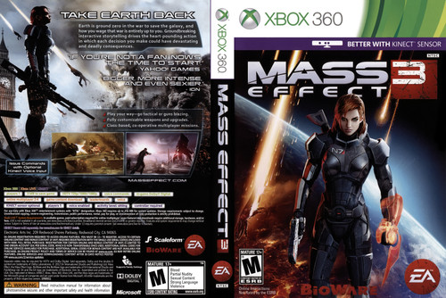 Mass Effect 3 - Xbox 360 - USED