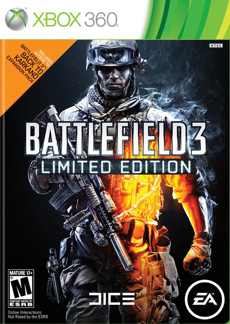 Battlefield 3 - Limited Edition - Xbox 360 - USED