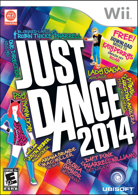 Just Dance 2014 - Wii - USED