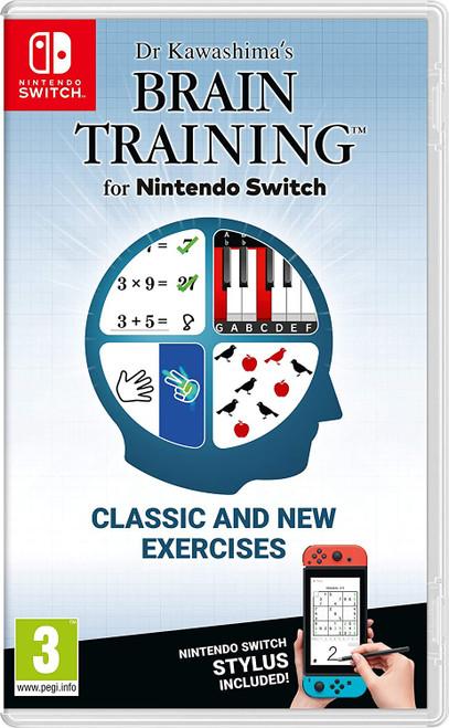 Dr. Kawashima's Brain Training - Switch - IMPORT (UK) - USED