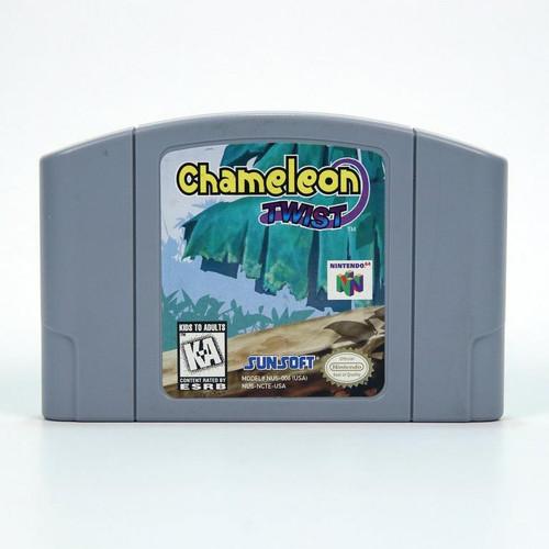 Chameleon Twist - N64 - USED
