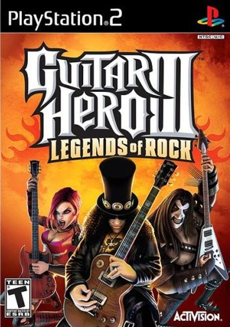 Guitar Hero III: Legends of Rock - PS2 - USED