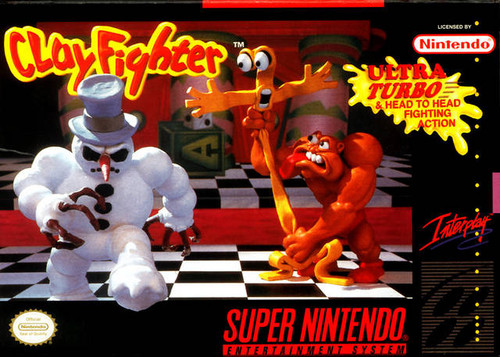 Clay Fighter - SNES - USED - INCOMPLETE