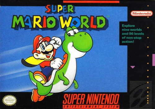 Super Mario World - SNES - USED - INCOMPLETE