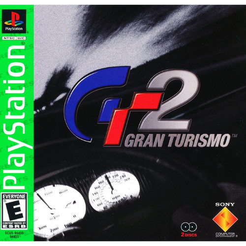 Gran Turismo 2 - PS1 - GREATEST HIT - USED